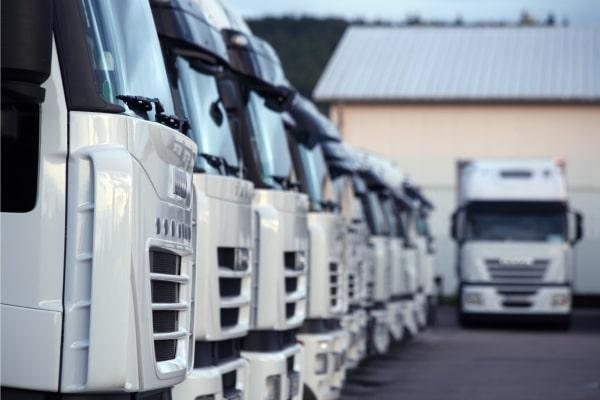 Parkoló kamionok - EDI a logisztika területén