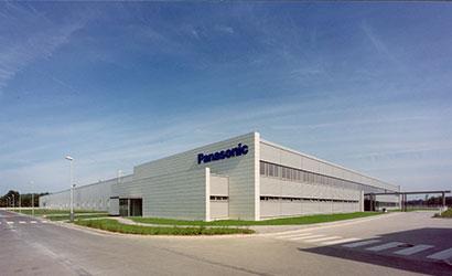 a Panasonic Industrial Systems Europe épülete