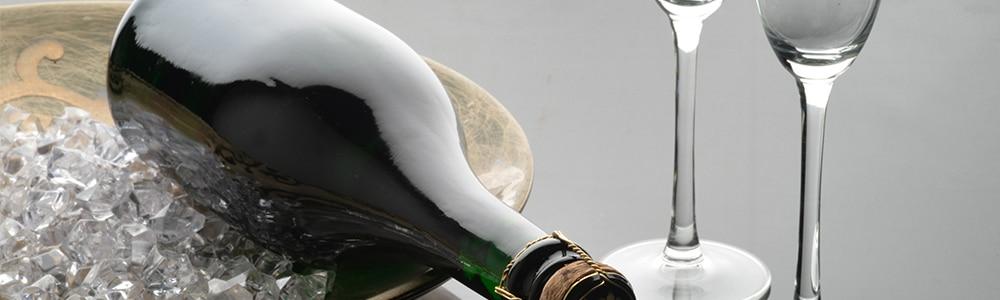 Törley palack két pohárral