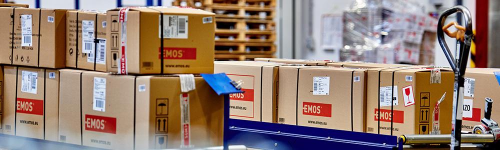 EDI folyamatok az EMOS Csoportnál - archiválás, raktár, dobozok