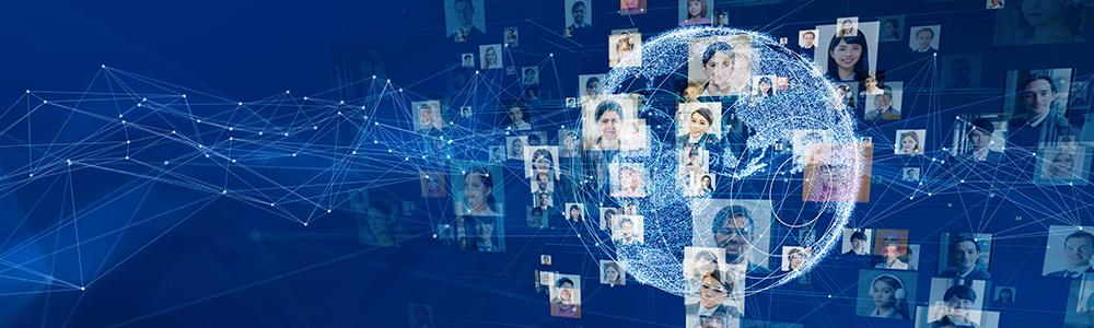 Digitális Földgolyó és egymáshoz kapcsolódó dolgozók képviselik, milyen egy karrier az EDITEL-nél